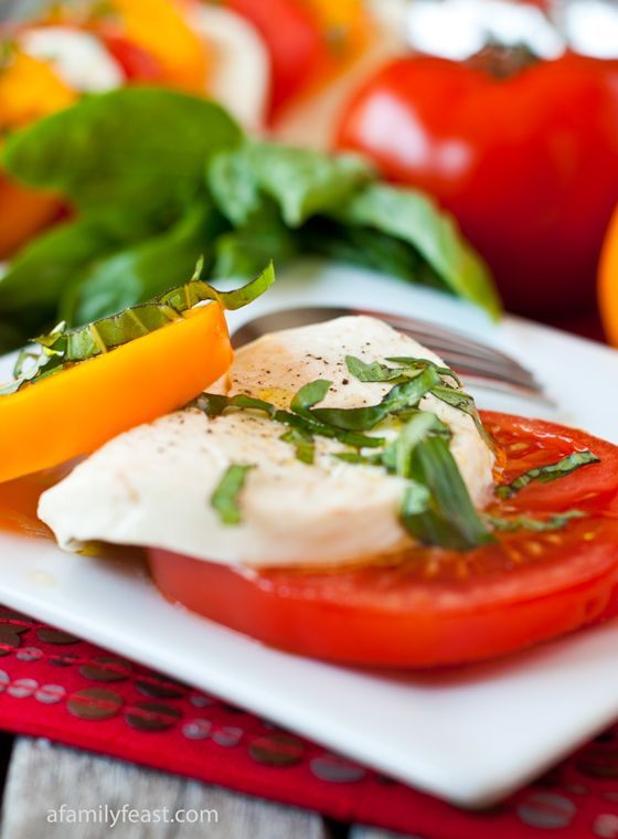 Caprese Salad - Light, healthy and delicious!