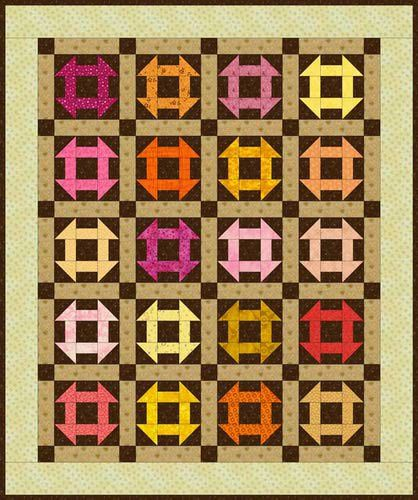Baby Monkey Wrench Quilt Pattern Sewing/Fabric Pinterest