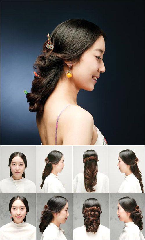 Китайские прически для коротких волос