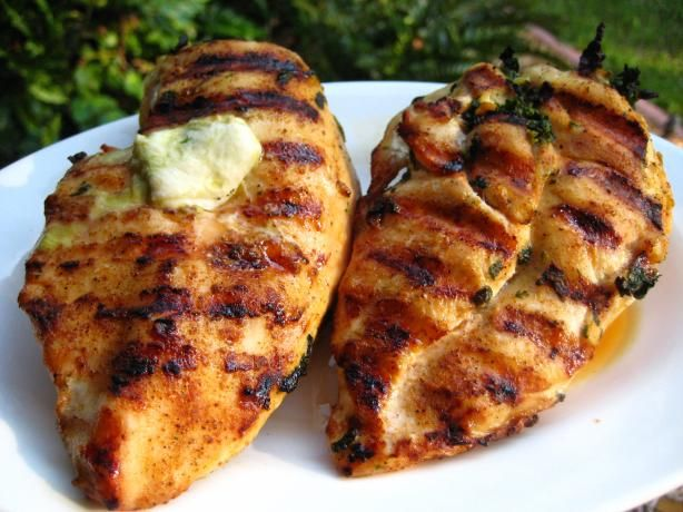 Spinach-Stuffed Chicken Breasts from Food.com: This recipe came from ...