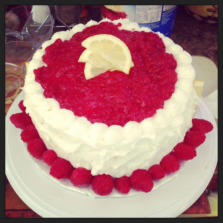 Raspberry lemon cake! I-heartcakes.com | My Cakes - I Heart Cakes | P ...