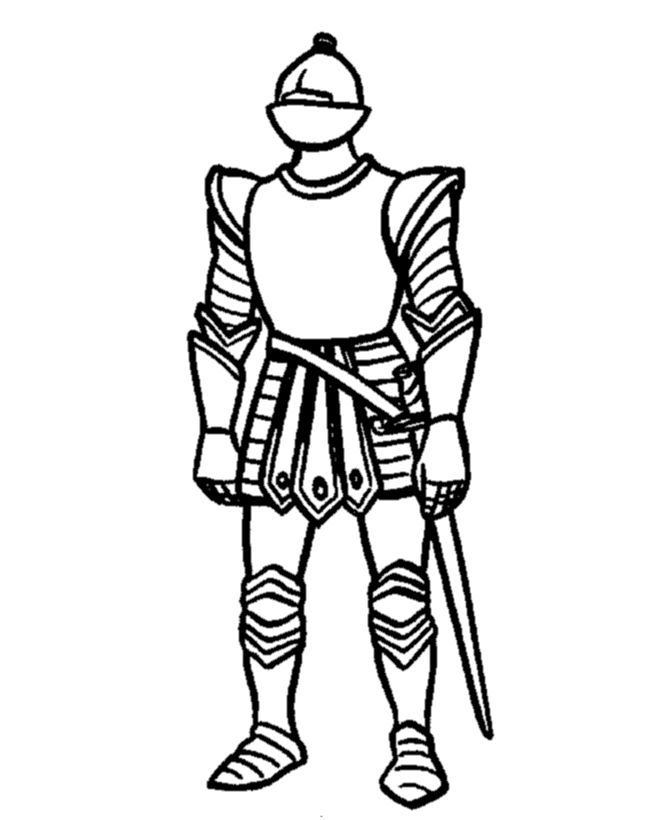 Me Val Armor Coloring Pages This Fantasy And Me Val Coloring Page Shows A Knight In A Full