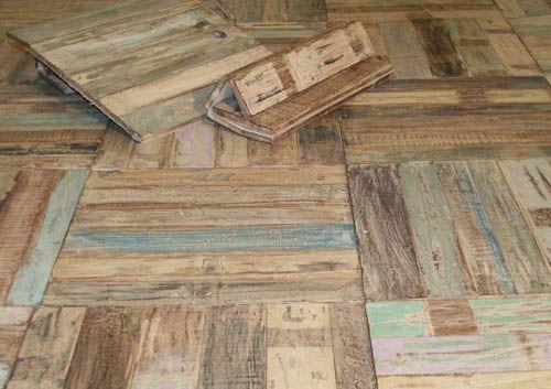 Recycled Wood Floor Tiles Price Per Sq Metre 4 Tiles