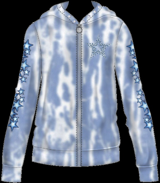 This funky tie dyed hoodie design yours today at www fashionplayte