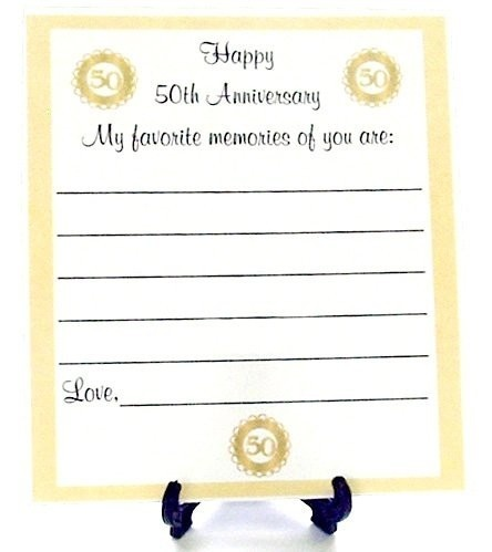50th Wedding Anniversary Gift Ideas For Guests : anniversary party ideas Connies 40th Pinterest