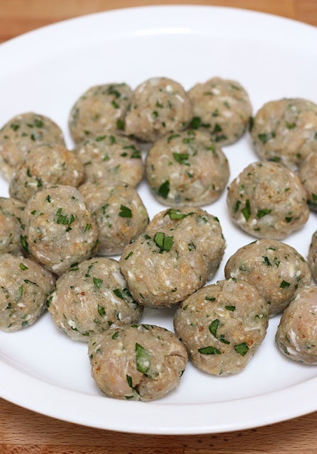 Escarole Soup with Turkey Meatballs (Italian Wedding Soup) | Recipe