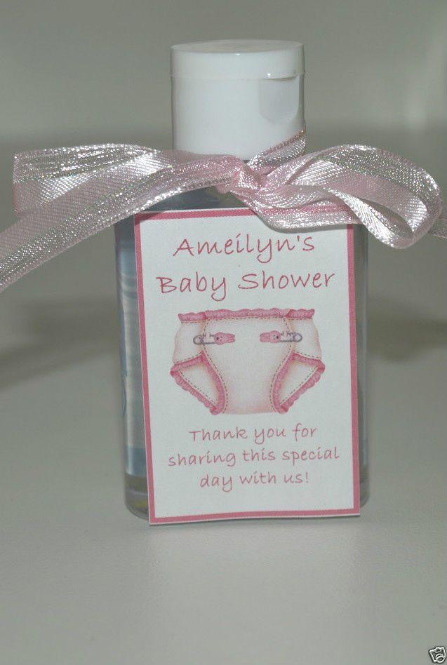 baby shower diaper hand sanitizer party favors unique fast 5 colors