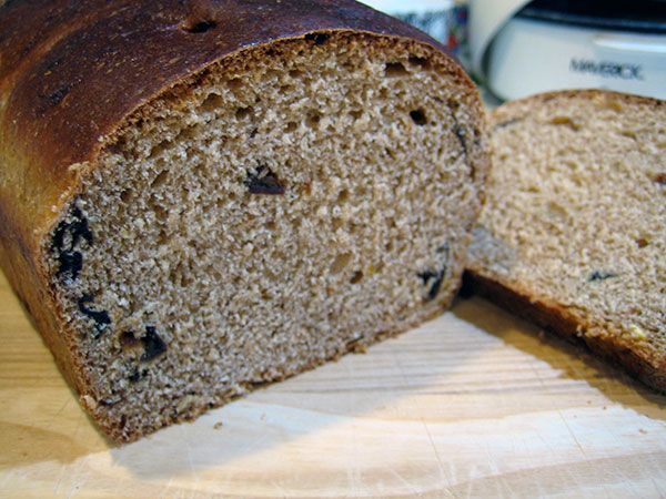 Honey Orange Prune Bread | bread | Pinterest