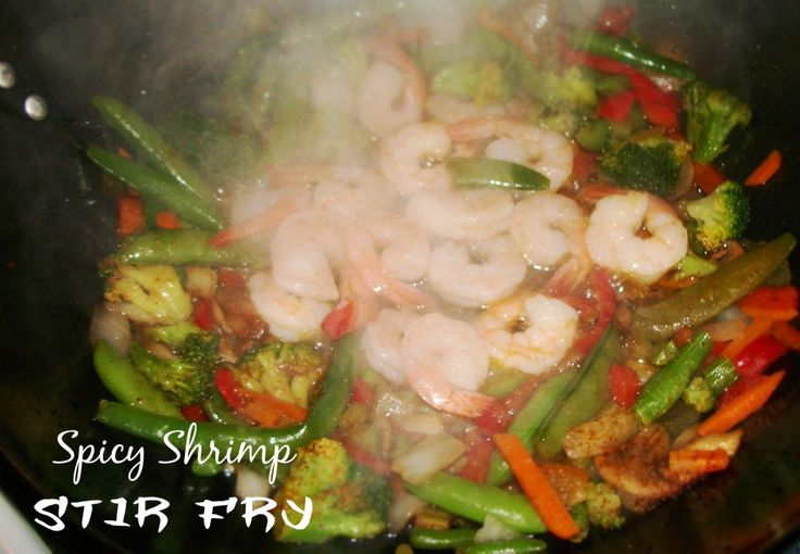 Spicy Shrimp Stir Fry | Recipes | Pinterest