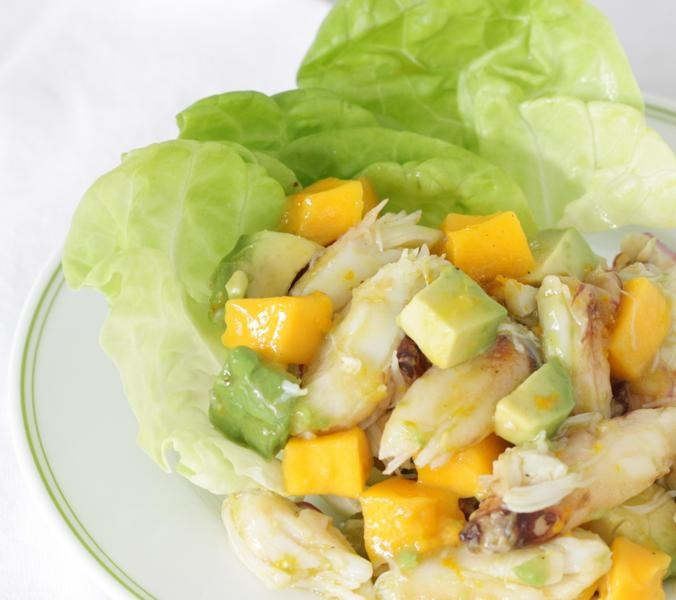 ... crab mango and avocado salad joinmefordinner crab mango and avocado