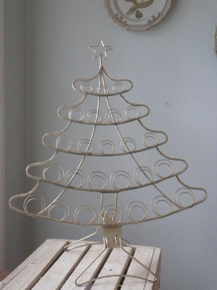 Metal christmas tree card holder for Christmas tree holder
