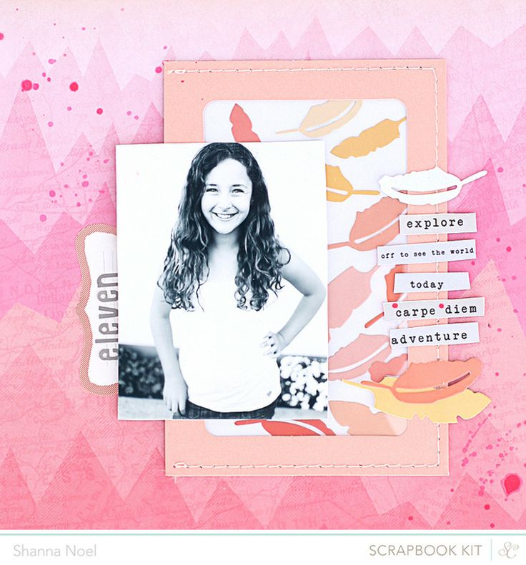 Scrapbooking Kits, Paper & Supplies, Ideas & More at StudioCalico.com! Shanna Noel - so cute