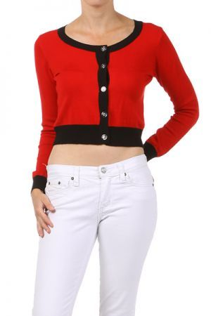 sweater with a button down closure http://enewmall.com/women-sweater