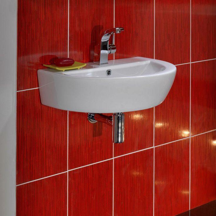 Arc Wall Mounted Basin Large Bathrooms Pinterest