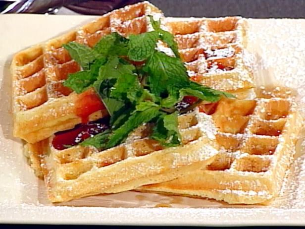 Classic Belgian Waffles (makes too many, but great recipe)