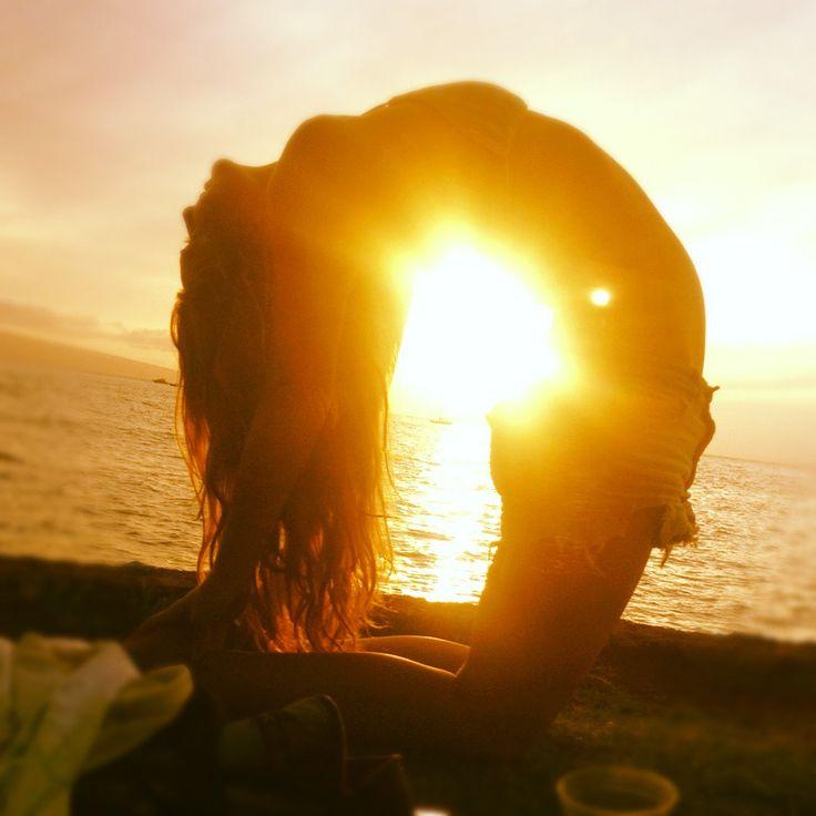 greeting the sun | yoga pose