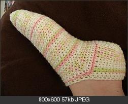 Basic Crocheted Socks - AllFreeCrochet.com - Free Crochet