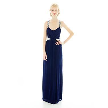 Long Slim Dress - JCPenney ATTENTION! THIS IS MY ACUTUAL PROM DRESS ...