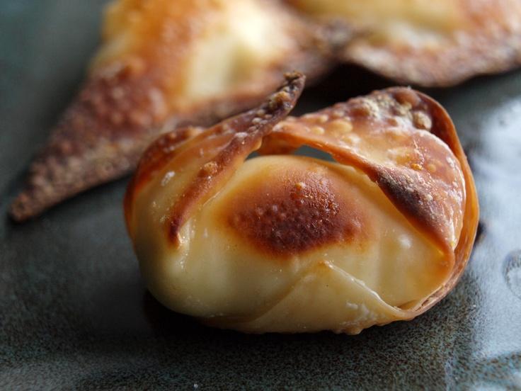BAKED CREAM CHEESE JALAPENO WONTONS | H'orderves & Snacks | Pinterest