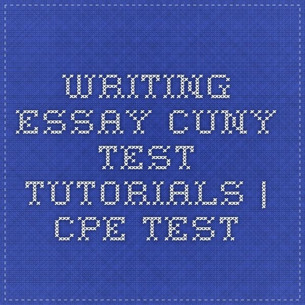 writing cpe essay