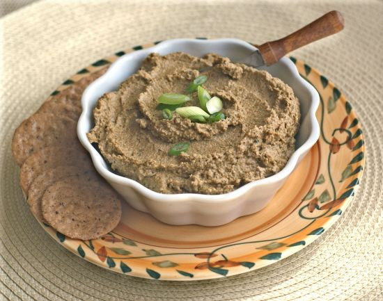 vegetarian chopped liver http://www.vegkitchen.com/recipes/special ...