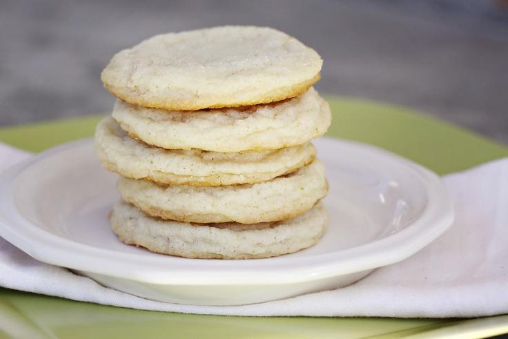 like sugar, I like coconut, I like cookes....CHEWY LIME SUGAR COOKIES ...