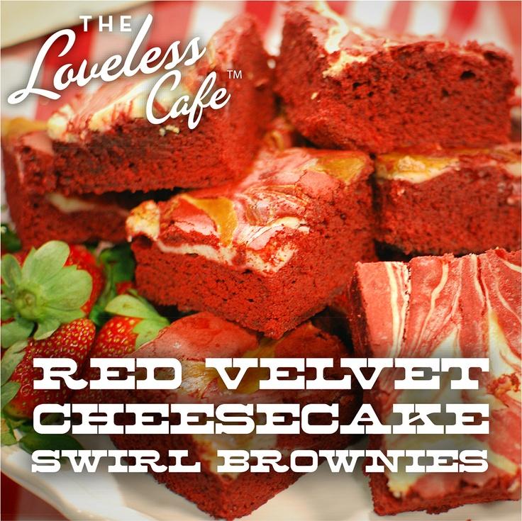 Red Velvet Cheesecake Swirl Brownies | Red Velvet Deliciousness | Pin ...