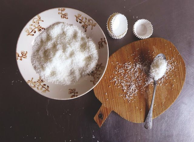 White chocolate and coconut brigadeiros | my recipes | Pinterest