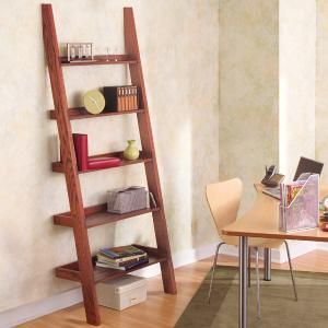 Leaning Tower of Shelves  This stylish but sturdy shelf unit will neatly hold your stuff--and you can build it in a day