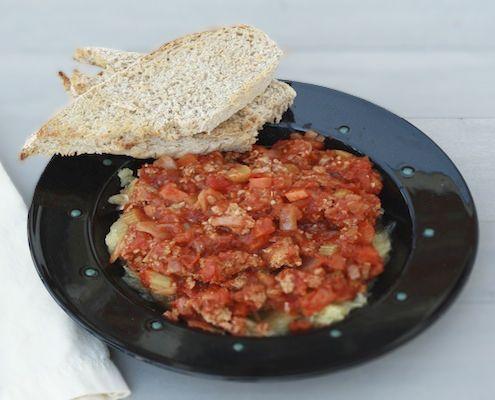 Quick Turkey Bolognese with Spaghetti Squash | Recipe