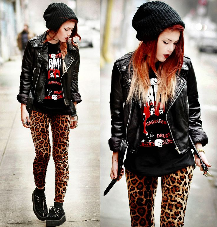 Rock N Roll Fashion Style Pinterest