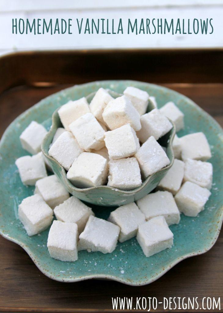 honey vanilla bean marshmallows homemade strawberry marshmallows hot ...