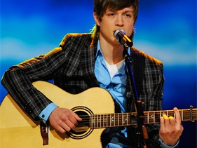 Alex Lambert  (American Idol - or should have been.  He's brilliant :) )