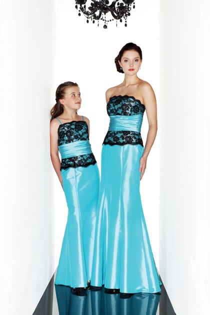 Black and turquoise bridesmaid dresses for Wedding dress consignment pittsburgh