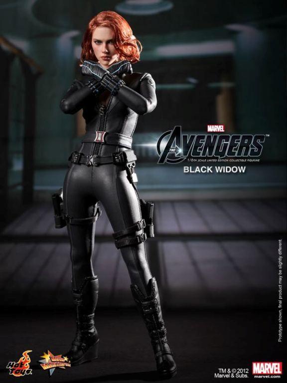 Black Widow Avengers Hot