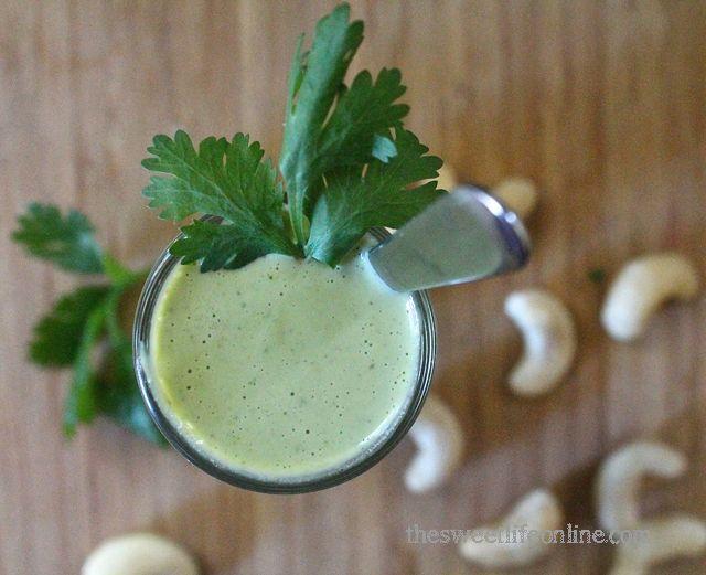 Creamy cilantro dressing | vegan sauces/dips/dressings | Pinterest