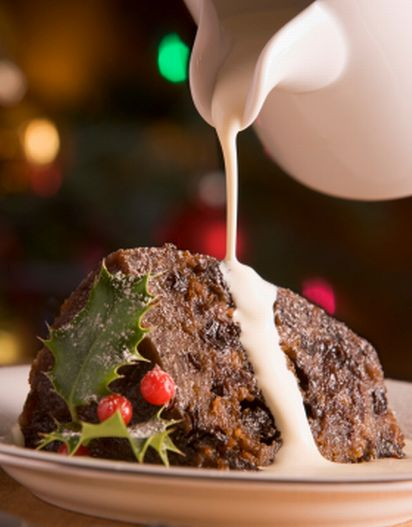 Fig Steamed Pudding | Gourmande: Fruitcake, Plum Pudding, Boiled Pudd ...