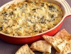 Lightened Up Creamy Artichoke and Spinach Dip. Only 5 grams of fat per ...