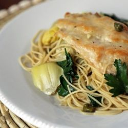 Chicken With Artichokes and Angel Hair — an elegant and weeknight ...