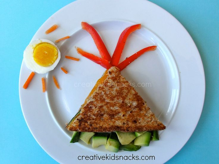 volcano sandwich