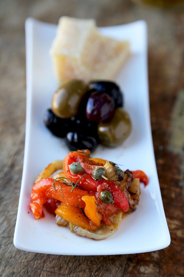 Roasted pepper and fennel salad with caper dressing - natural botox ...