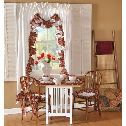 Country kitchen and curtains decorating ideas pinterest - Country kitchen curtain ideas ...
