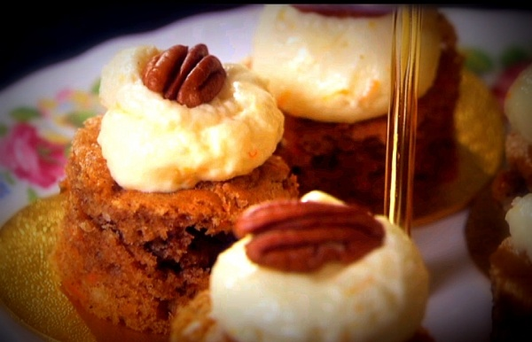 Carrot Cake with Ginger and Pecans   Sweet Tooth   Pinterest