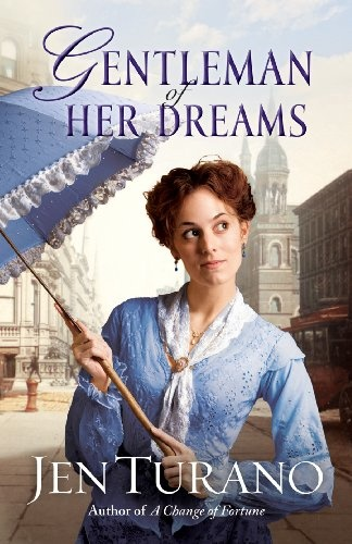 Free Book - Gentleman of Her Dreams, a Ladies of Distinction novella by Jen Turano, is free in the Kindle store and from Kobo and ChristianBook, courtesy of Christian publisher Bethany House. This novella is a companion to A Change of Fortune, Jen Turano's full-length debut novel, which will be released at the first of November.