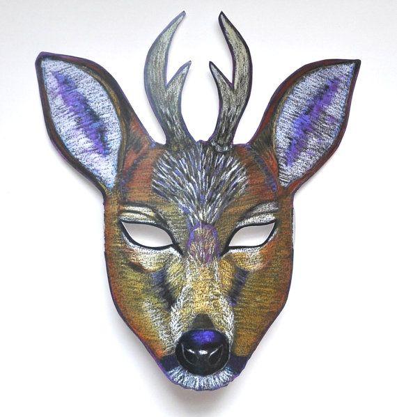 deer mask template deer mask with antlers