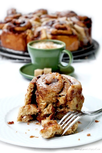 whole wheat cinnamon rolls | Cinnamon | Pinterest
