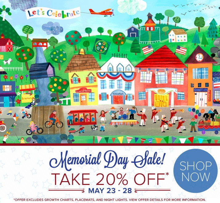 memorial day sale rooms to go 2015