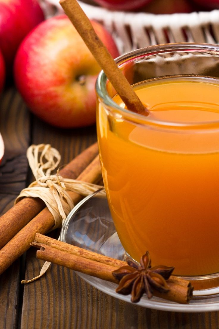 Hot Spiced Cider. Use apple juice instead of apple cider and omit the ...