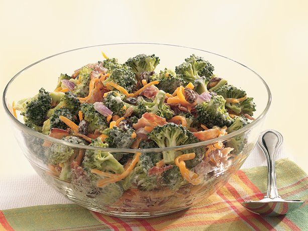 Broccoli, Bacon and Cheddar Toss. When I make this, I leave out the ...