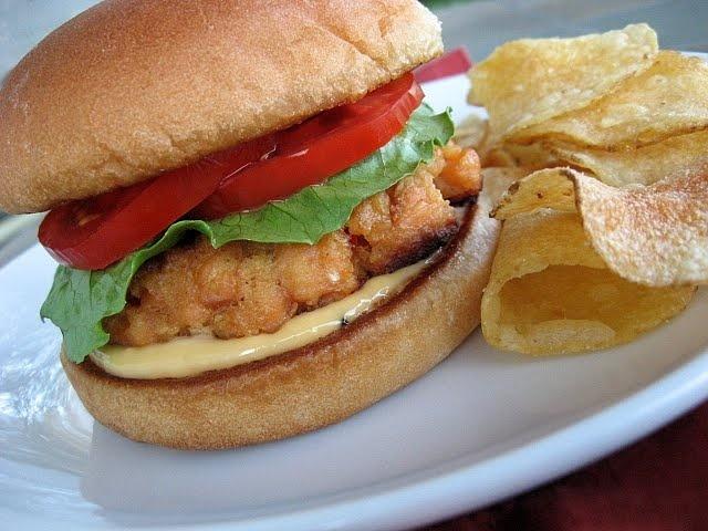 Salmon Burgers with Sesame Mayonnaise | Burgers... | Pinterest